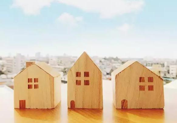 たくさんの家
