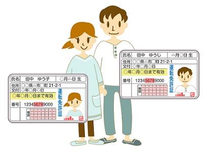 夫婦の免許証