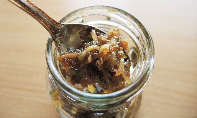食べる生姜オリーブオイル漬
