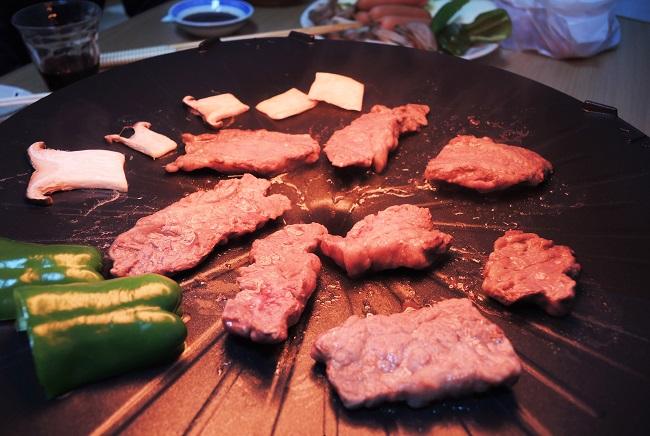 ザイグルで焼き肉