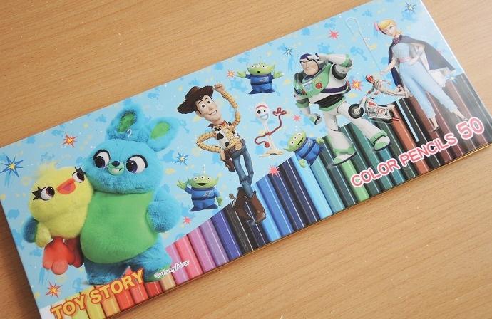 ディズニー50色色鉛筆